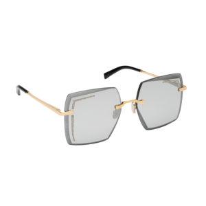 occhiale da sole di lusso lara d con diamanti