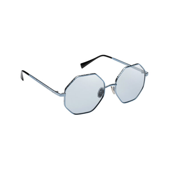 occhiale da sole con lente da aperitivo cesellato a mano